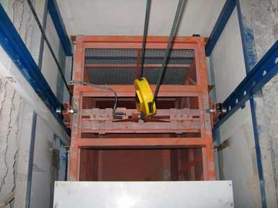Подъемник для типовой шахты